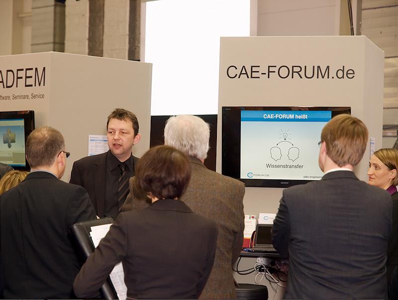 Die Mission, Gemeinschaftsstand CAE-Forum 2012