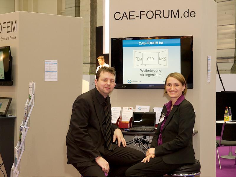 Gemeinschaftsstand CAE-Forum 2012
